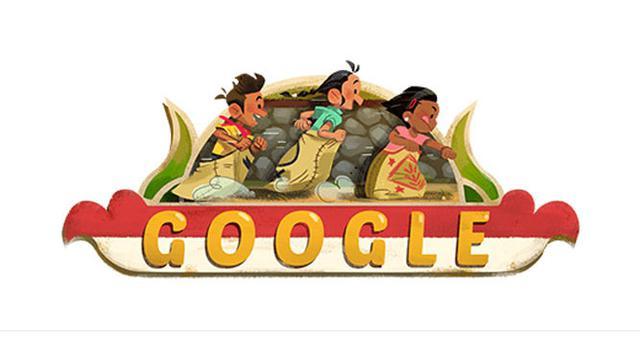 Google Doodle Semarakkan Hari Kemerdekaan Indonesia ke-73. (Doc: Google)