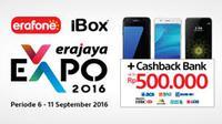 Promo cuci gudang Smartphone hingga 70% tersaji dalam Erajaya Expo yang hadir di Galaxy Mall Surabaya.
