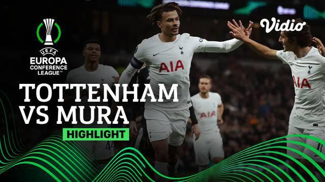 Berita video Tottenham Hotspur pesta gol di Grup G Europa Conference League 2021/2022, di mana Harry Kane mencetak hattrick, Jumat (1/10/2021) dinihari WIB.