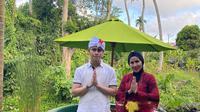 Momen liburan Venna Melinda di Bali. (Sumber: Instagram/vennamelindareal)