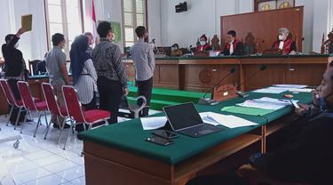 Sidang lanjutan Agung Sucipto, penyuap Nurdin Abdullah (Liputan6.com/Eka Hakim)