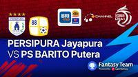 BRI Liga 1 : Persipura Jayapura vs PS Barito Putera