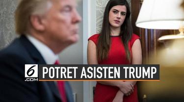 Asisten pribadi Donald Trump, Madeleine Westerhout dipecat dari Gedung Putih karena disebut sebagai sosok yang membocorkan informasi ke media.