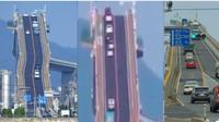 Padahal jembatan Eshima Ohashi sama seperti jembatan pada umumnya. (Sumber: Siakapkeli)