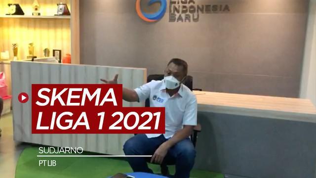 Berita video wawancara Direktur Operasional PT LIB, Sudjarno, terkait pelaksanaan Liga 1 2021