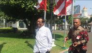Mahfud MD mengaku dipanggil oleh Presiden Joko Widodo atau Jokowi. (Liputan6/Lizsa Egeham)