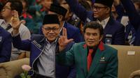 Ketua Umum DPP PAN Zulkifli Hasan dengan Rhoma Irama