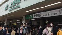 Jepang adalah negera yang sangat mengandalkan kereta sebagai moda transportasi. (Liputan6.com/Edu Krisnadefa)