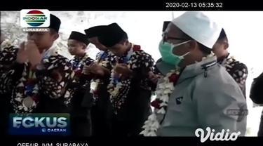 Santri Ponpes Mambaus Sholihin 2, Desa Sumber, Kecamatan Sanan Kulon, Kabupaten Blitar, berhasil menangkan lomba robotik se-Asean World Robotic for Peace yang digelar International Robotic Training and Competition (IRTC) pada 7-8 Feb 2020 di Johor Ba...