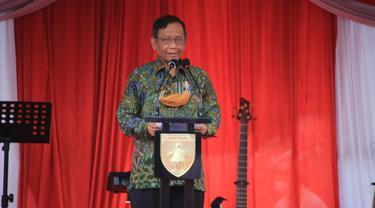 Menko Polhukam Mahfud Md (Dian Kurniawan/Liputan6.com)