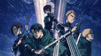 Poster Anime Shingeki no Kyojin, Attack on Titan Season Final. (MAPPA / NHK General TV)