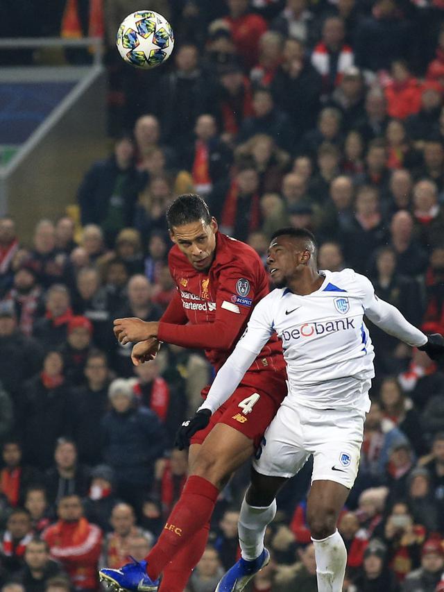 Liverpool Kalahkan KRC Genk di Anfield