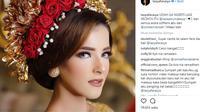 Berikut gaya dengan beberapa busana adat saat pernikahan influencer Tasya Farasya. (Foto: instagram/tasyafarasya)