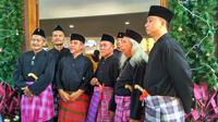 Enam Krida Wibawa di Perayaan Natal di Gereja Santa Servatius Bekasi (Liputan6.com/Ika Defianti)