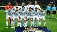 Gelandang Real Madrid, Luka Modric, menyebut baik Isco atau Gareth Bale sama-sama pemain yang penting dan memiliki banyak kontribusi buat timnya. (AFP/Odd Adersen)