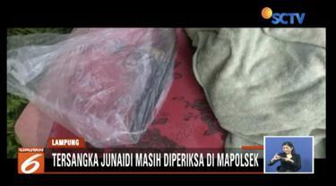 Baru lima hari menikah, perempuan di Mendungsari, Lampung, tewas diduga dihabisi suami sendiri.
