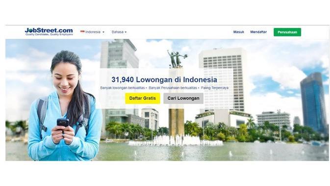 Situs pencari kerja (sumber: jobstreet)