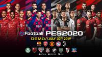Cover eFootball PES 2020 (Doc. Konami)