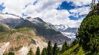 Ilustrasi Aletsch Glaciar / Sumber: Pixabay
