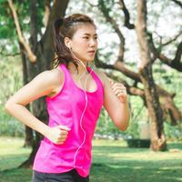 Jogging untuk me time./Copyright shutterstock.com/g/N+U+S+A+R+A