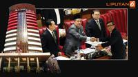 Banner Infografis Kesepakatan Pembentukan Dewan Pengawas KPK. (Liputan6.com/Triyasni)