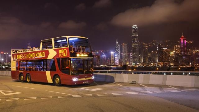 Take a tour of Hong Kong by City Bus
