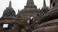 Candi Borobudur. (Liputan6.com/Reza Kuncoro)