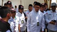 Menteri Agama Lukman Hakim Saifuddin bersyukur pohon Soekarno tumbuh subur. (www.dream.co.id)
