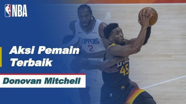 Berita Video Deretan Aksi Berkelas dari Donovan Mitchell Saat Utah Jazz Kalahkan LA Clippersdi NBA Hari Ini