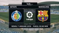 La Liga Getafe Vs Barcelona (Bola.com/Adreanus Titus)