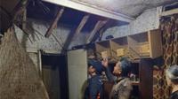 Badan Penanggulangan Bencana Daerah (BPBD) Kabupaten Bandung menerima laporan kerusakan bangunan rumah warga atas nama Ibu Imas Deni Yuningrat. (Dok. BPBD)