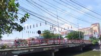 Jembatan Merah di Surabaya, Jawa Timur (Foto: Liputan6.com/Dian Kurniawan)