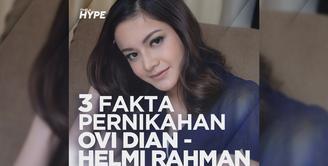 Seperti apa fakta dibalik pernikahan Ovi Dian dan Helmi Rahman? Yuk, kita cek video di atas!