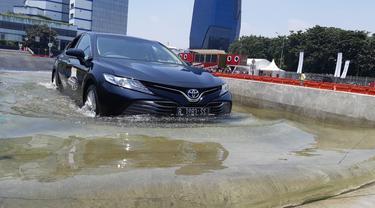 Toyota Driving Experience (TDE) di Sunter, Jakarta Utara