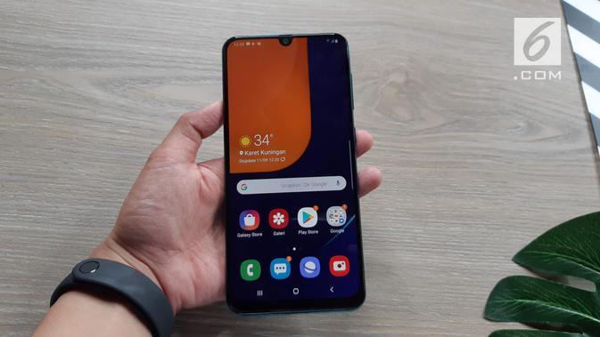 Samsung Galaxy A50s (Liputan6.com/ Agustin Setyo W)