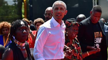Barack Obama Kunjungi Kenya