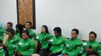 Grab menggelar roadshow safety riding di Yogyakarta (Liputan6.com/ Switzy Sabandar)