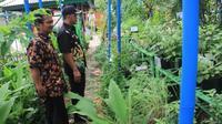Makarya, Kampung tematik yang terdapat di Kelurahan Larangan Selatan, Kecamatan Larangan, Tangerang ini bisa membangkitkan kreatifitas warganya.