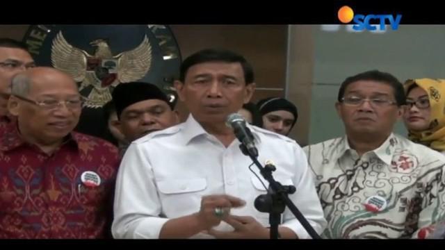 Menko Polhukam Wiranto kembali menjelaskan Peraturan Presiden Pengganti Undang-Undang (Perppu) Nomor 2 Tahun 2017.