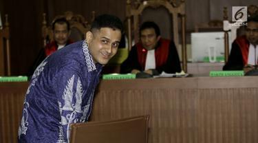 Nazaruddin Beri Kesaksian untuk Choel Mallarangeng