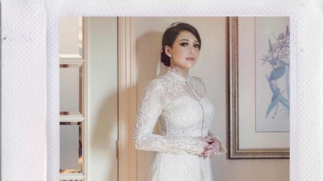 Pengakuan Perancang Busana Tentang Gaun Pernikahan Maia Estianty