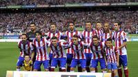 Mario Madzukic berjasa besar dalam kesuksesan Atletico meraih Piala Super Spanyol 2014.