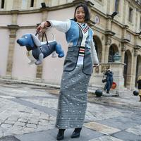 Fotografer street style ternama Phil Oh hadirkan potret menarik di Paris Fashion Week (Foto: Instagram/ Phil Oh)