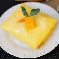 ilustrasi pancake mangga/copyright Shutterstock