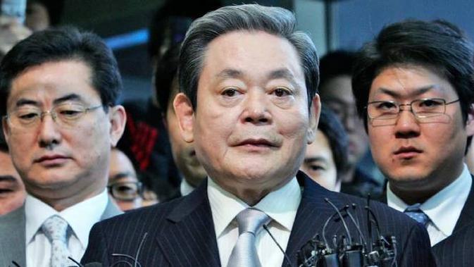 Lee Kun-hee, Chairman of Samsung. Dok: Associated Press