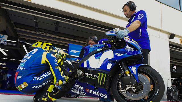 PHOTO: Valentino Rossi 9th place during the Aragon MotoGP training session