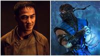Joe Taslim perankan Sub Zero Mortal Kombat (Sumber: comingsoon dan sideshow)