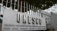 Kantor UNESCO yang mengurusi bidang pendidikan, ilmu pengetahuan, dan kebudayaaan (JACQUES DEMARTHON / AFP)