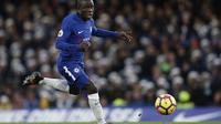 Gelandang Chelsea, N'Golo Kante. (AFP/Adrian Dennis)