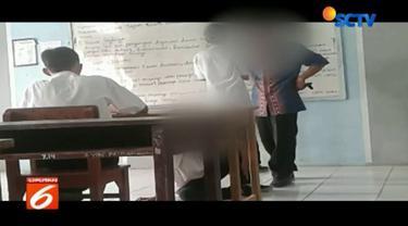 Terkait kasus guru tendang murid ini, pihak sekolah mengaku kekerasan tersebut merupakan puncak kekesalan sang guru.